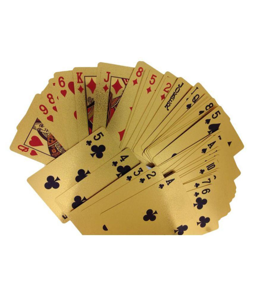 Jewel Shine Yellow Playing Cards