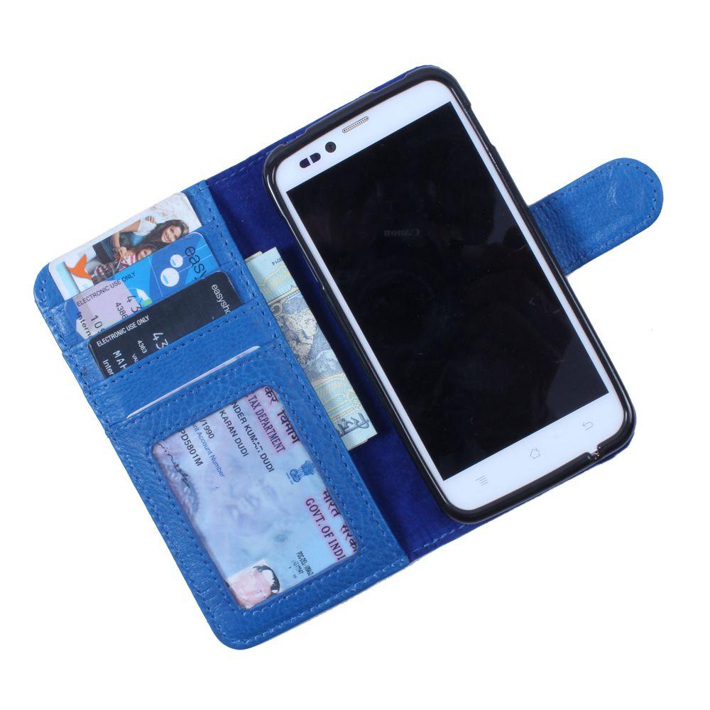 Samsung Galaxy J1 Flip Cover by DooDa - Blue