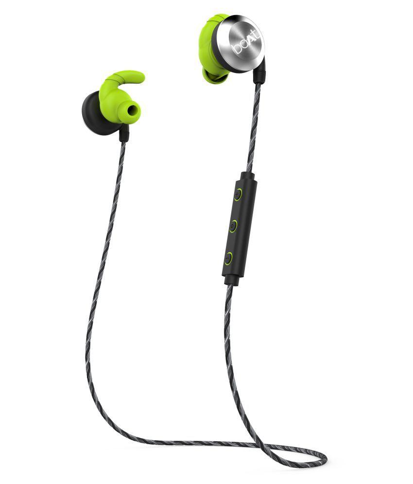 ce50773cb59 Boat Rockerz 230 In-Ear Bluetooth Headphone with Mic - Silver - Buy Boat  Rockerz 230 In-Ear Bluetooth Headphone with Mic - Silver Online at Best  Prices in ...