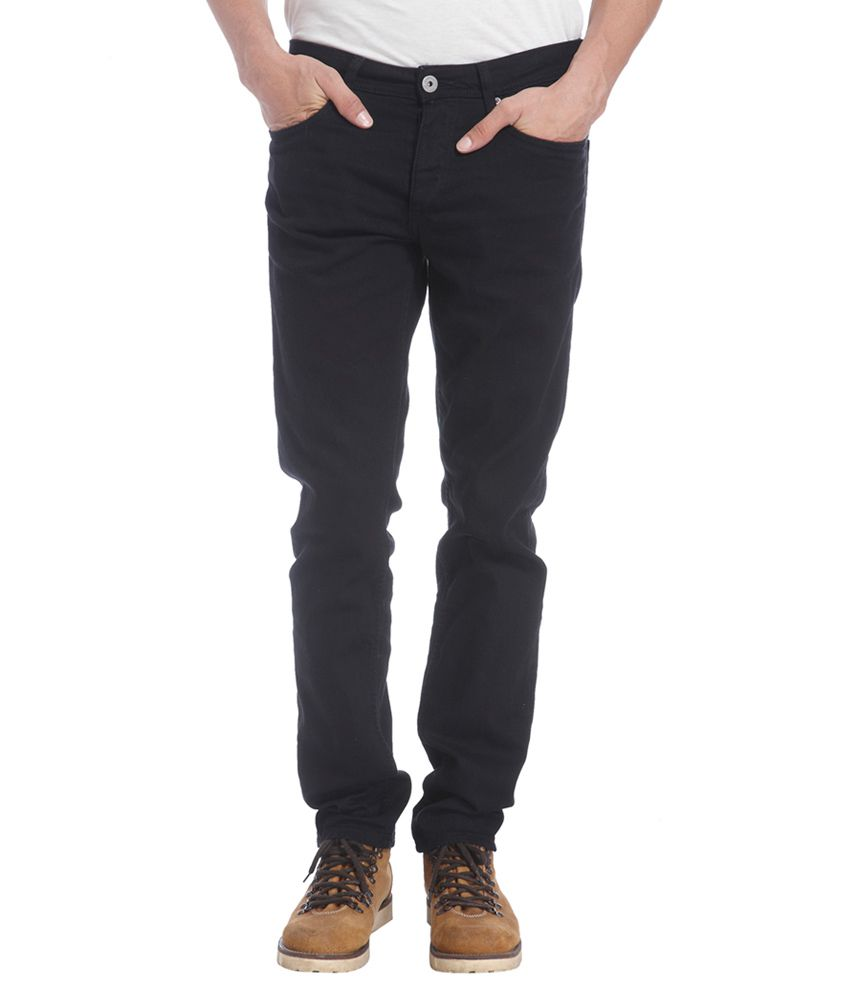 Jack & Jones Black Comfort Fit Jeans