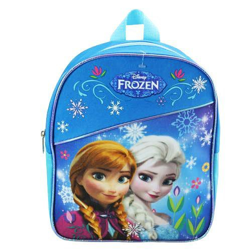 Disney Frozen Preschool Backpack Toddler 11 quot  (Anna And Elsa Backpack  With Blue Piping) e24f9b0045