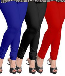 MDS Jeans Cotton Pack of 3 Leggings