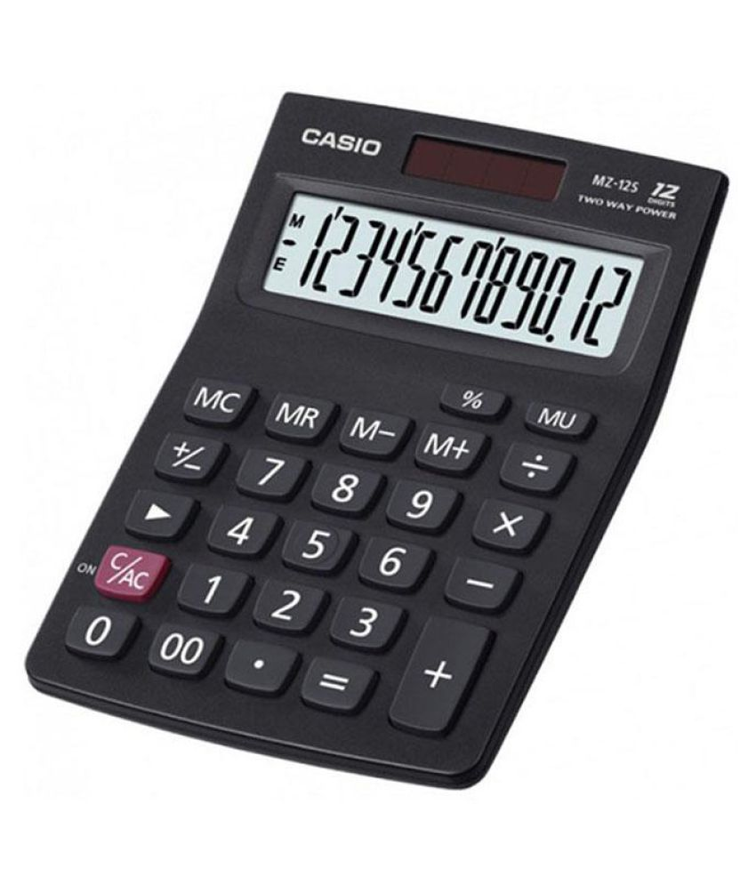 casio mz 12 sa table calculator buy online at best price in india