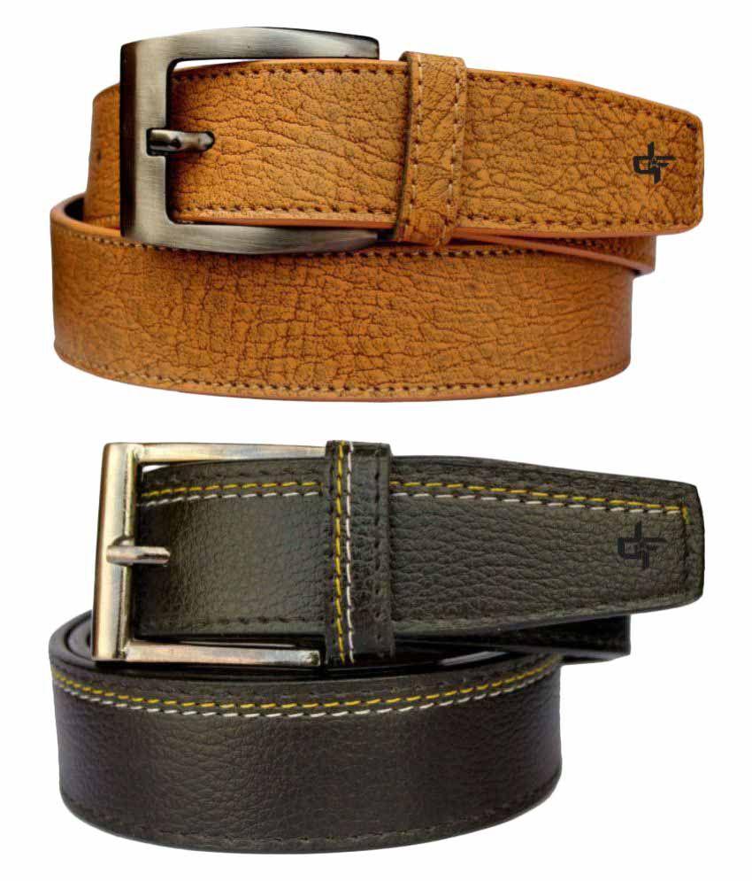 Discover Fashion Multi PU Casual Belts