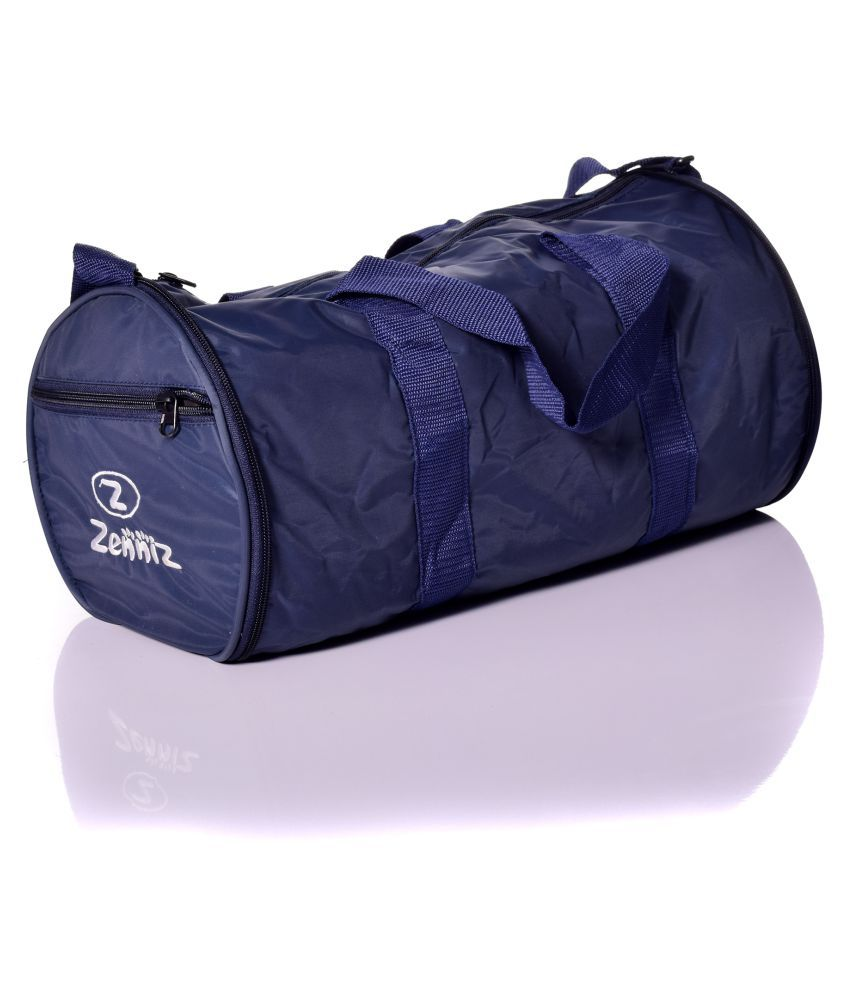 Zenniz Blue Gym Bag