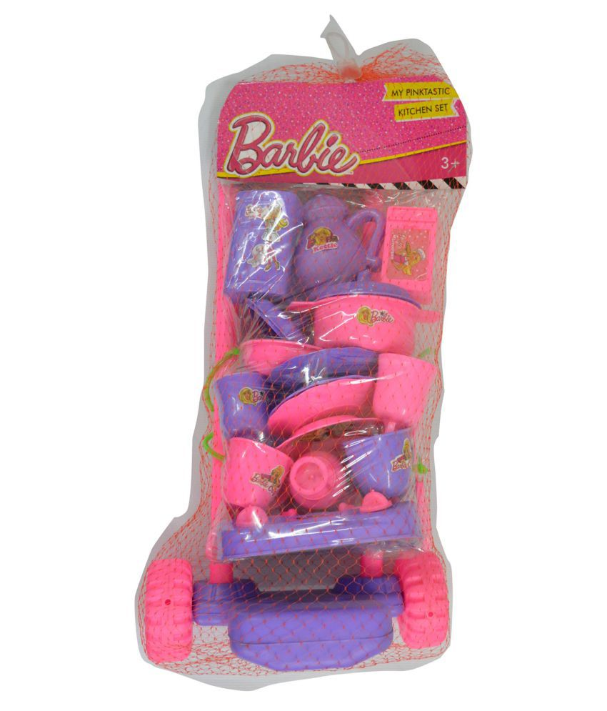 BARBIE KITCHEN SET price at Flipkart Snapdeal Ebay  : Mattle Multicolour Plastic Kitchen Set SDL173978196 1 67d40 from compare.buyhatke.com size 850 x 995 jpeg 79kB