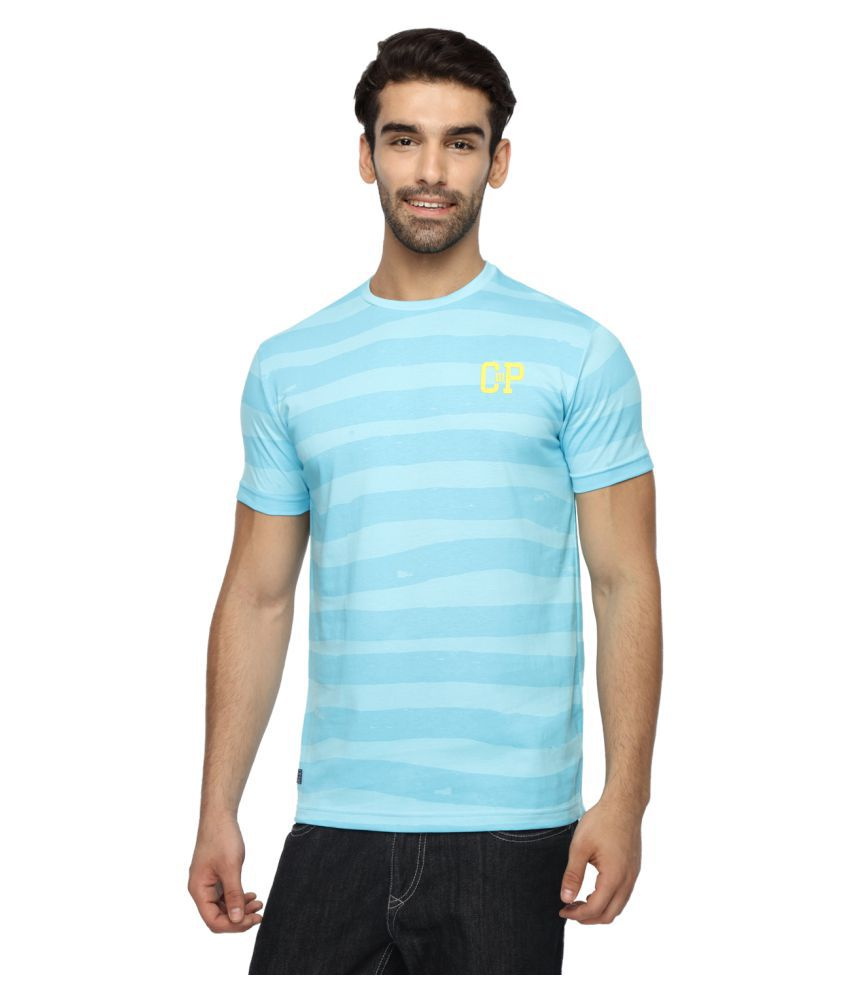 Classic Polo Blue Round T-Shirt