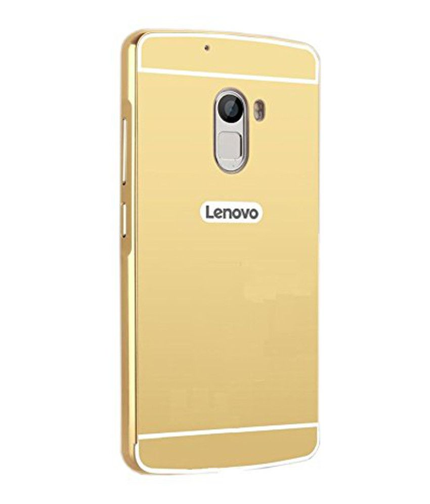 official photos 0c2c8 45113 Lenovo Vibe K4 Note Cover by Kosher Traders - Golden
