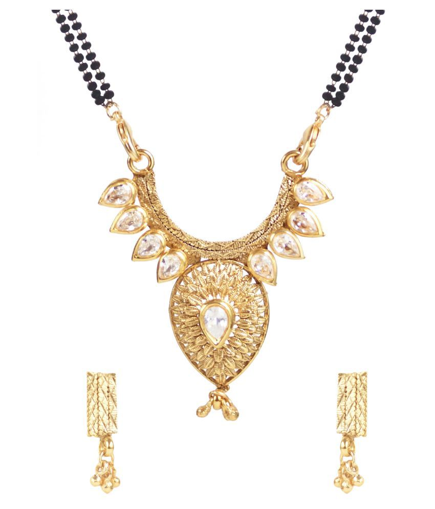 Penny Jewels Multicolour Mangalsutra Set