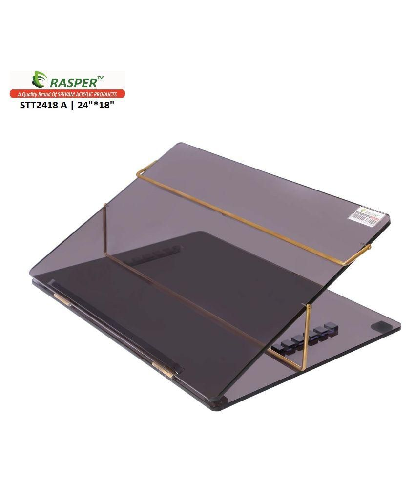Rasper  Acrylic Writing Desk (BIG SIZE 24x18 Inches)  Premium Quality 8MM With 1 Year Warranty