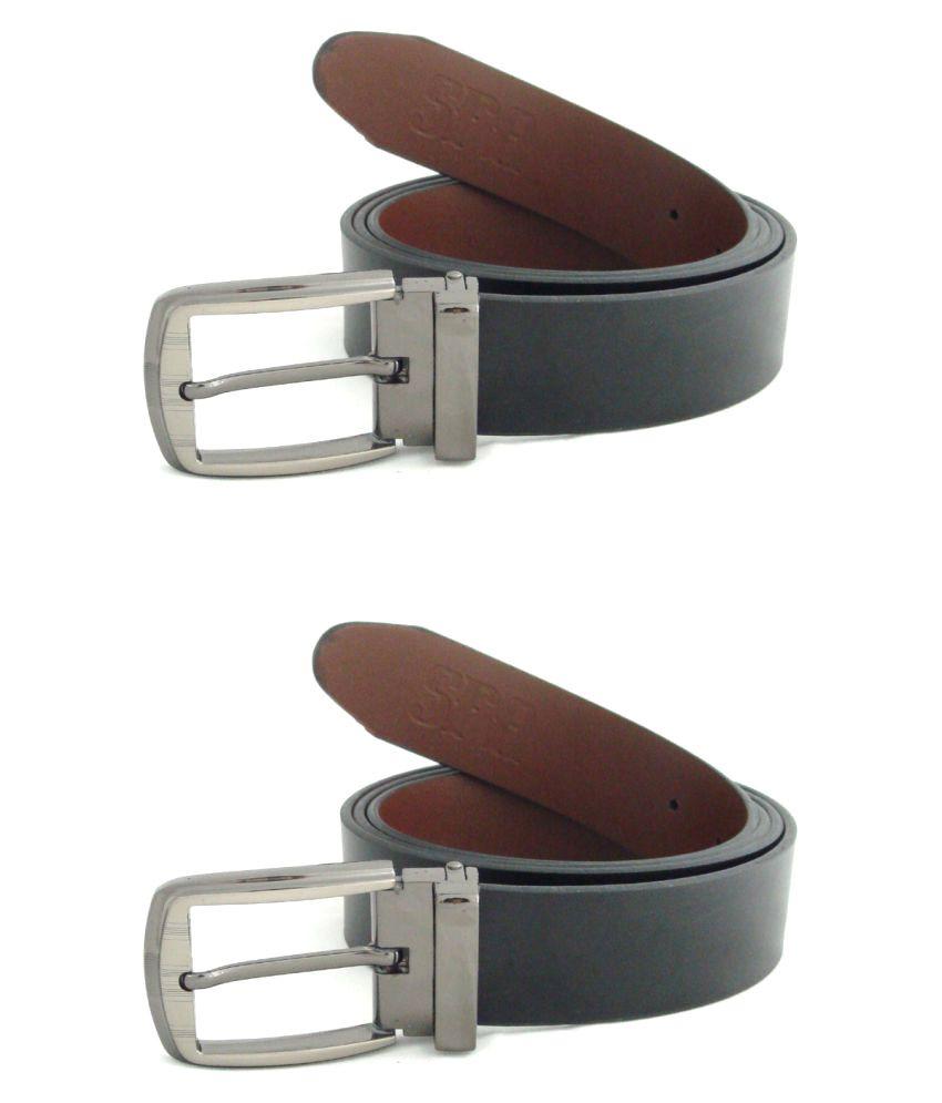SFA Black PU Formal Belts