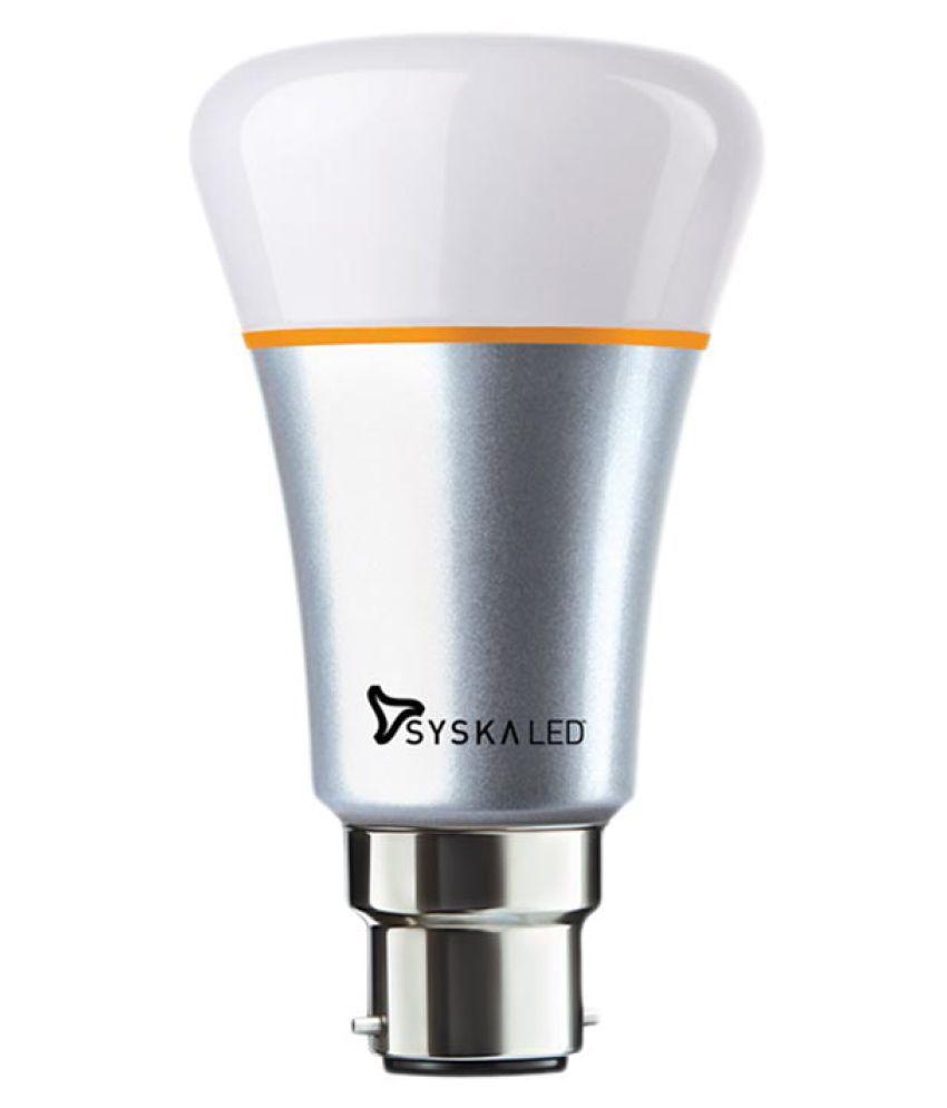Syska Silver 7W LED Bulb