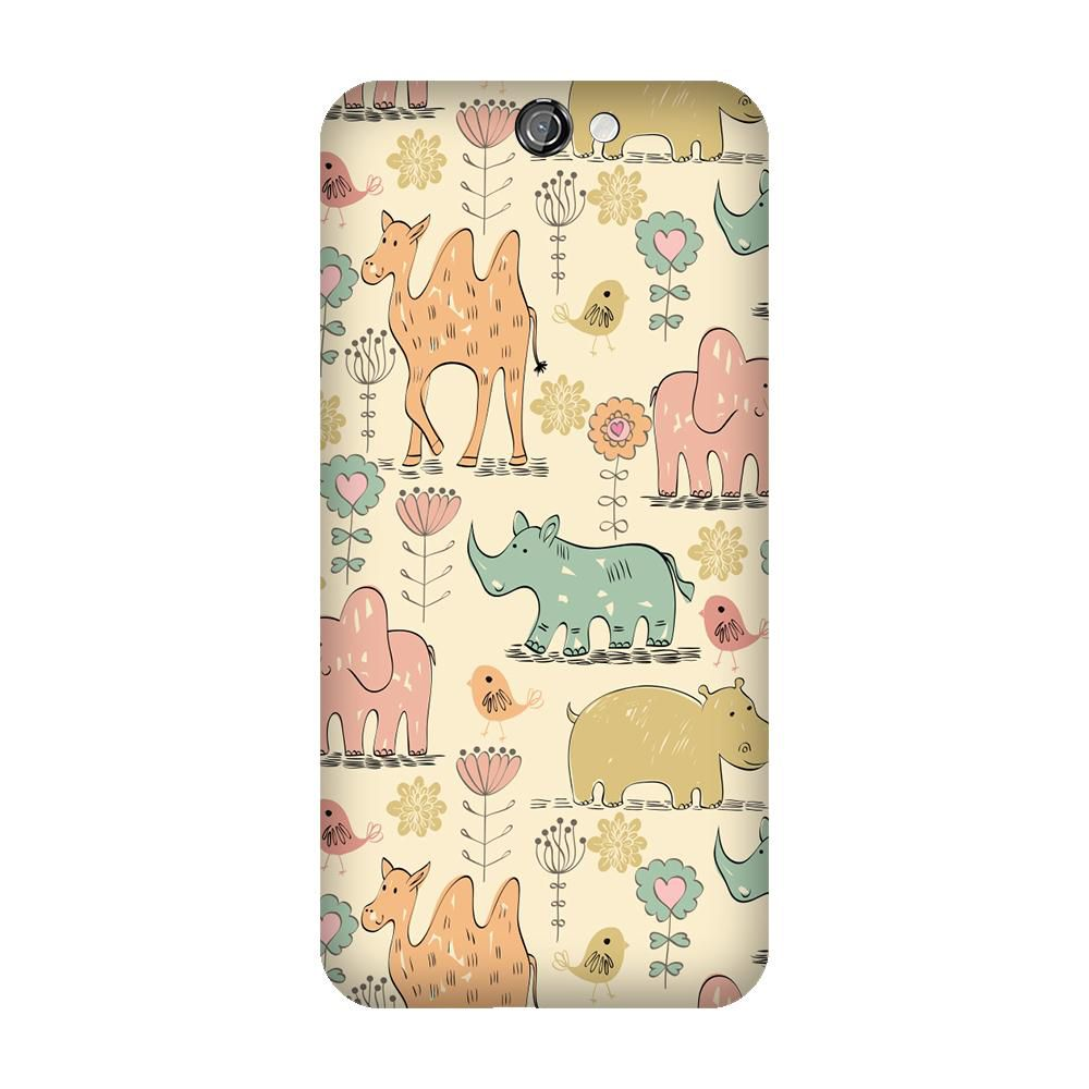 HTC One A9 Printed Cover By Armourshield