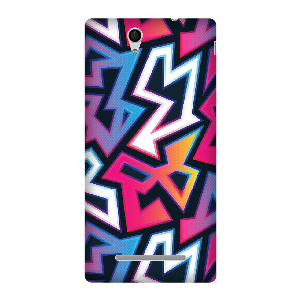 Sony Xperia C3 Printed Cover By Armourshield