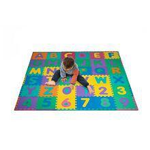 Trademark Games Foam Floor Alphabet And Number Puzzle Mat For Kids, 96-Piece