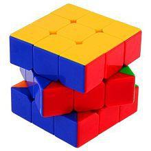 3x3x3 Speed Magic Cube Game Kid Children Gift Stickerless Rubiks Twist Puzzle