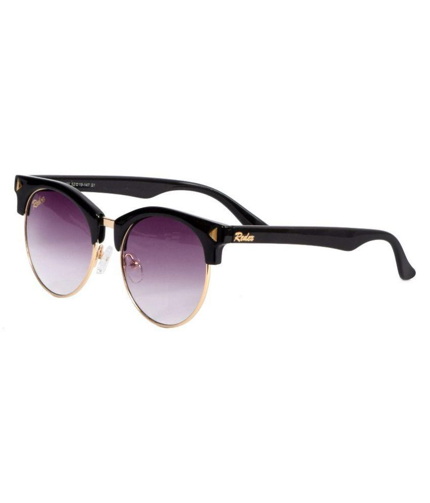 b04214d99b5 Redex Black Wayfarer Sunglasses - Buy Redex Black Wayfarer Sunglasses Online  at Low Price - Snapdeal