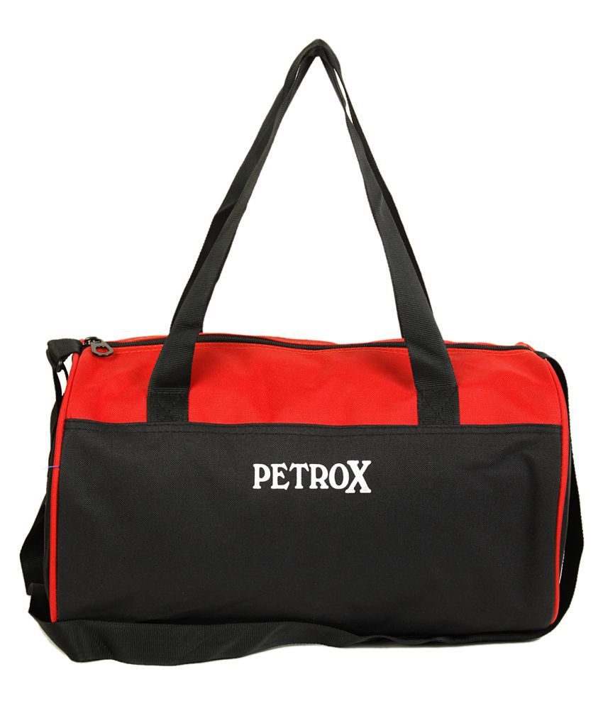 Petrox red Gym Bag