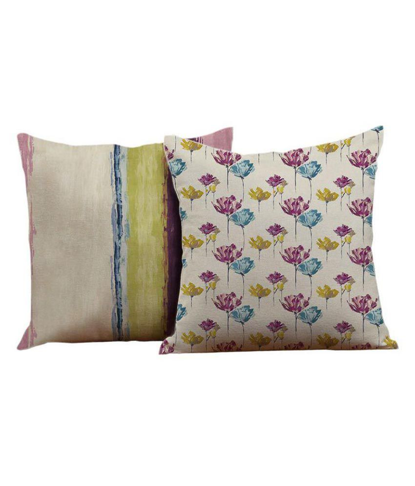 Houzzcode Single Velvet Cushion Covers