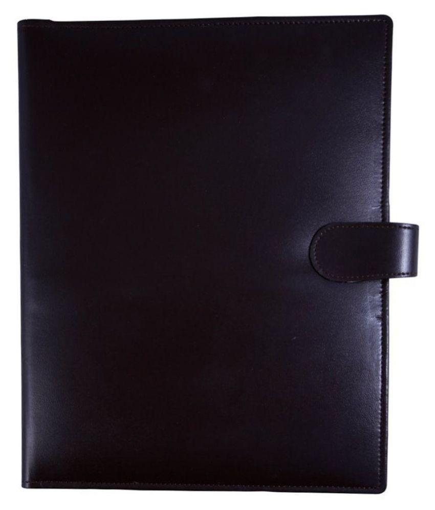 COI Black Document Folder