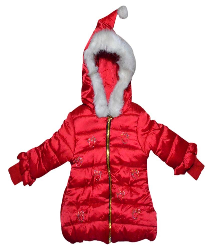 Winter Fuel Red Light Weight Jacket