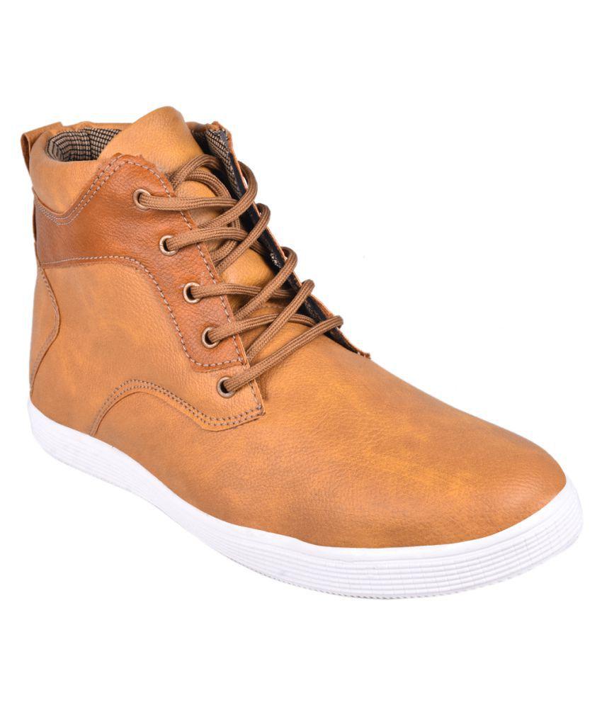 Bluecrow Tan Party Boot