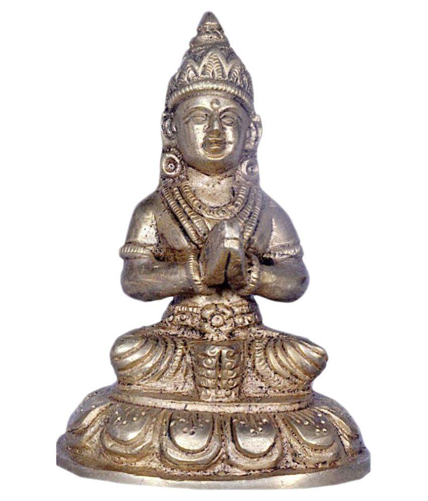 JY Maa Parvati Brass Idol
