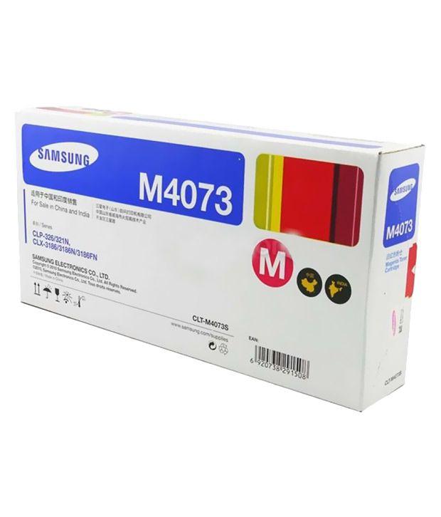 Samsung CLT-M4073S Majenta Toner Single