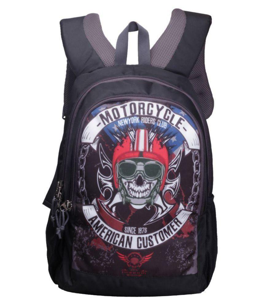 F Gear Castle Outlaws NRC 27L Backpack (Black)
