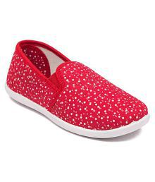 Asian Red Casual Shoe for Boys