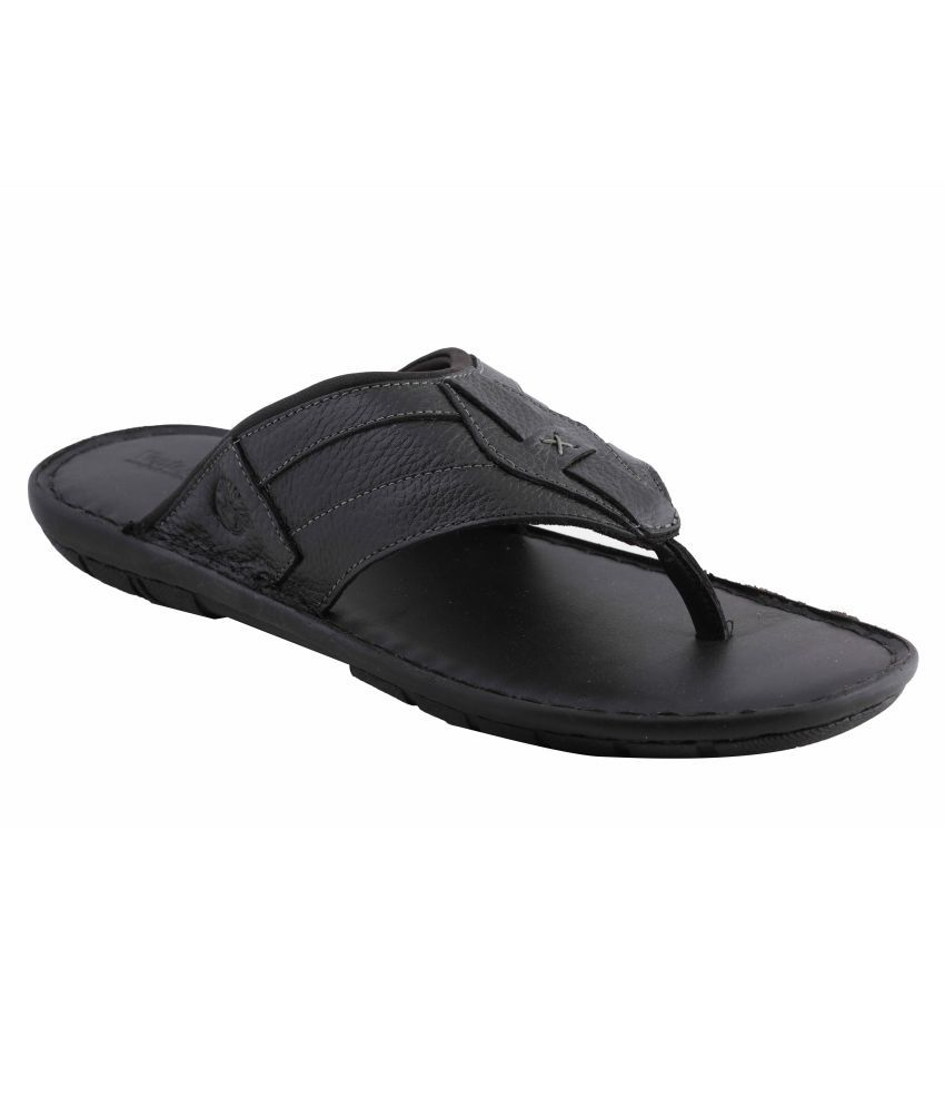9629cafcde0fa Amster Black Pure Leather Mens Slippers Price in India- Buy Amster Black  Pure Leather Mens Slippers Online at Snapdeal