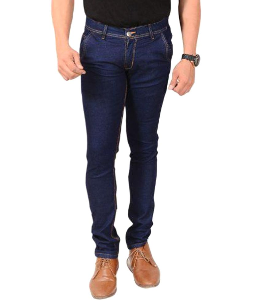 Montare Blue Slim Washed