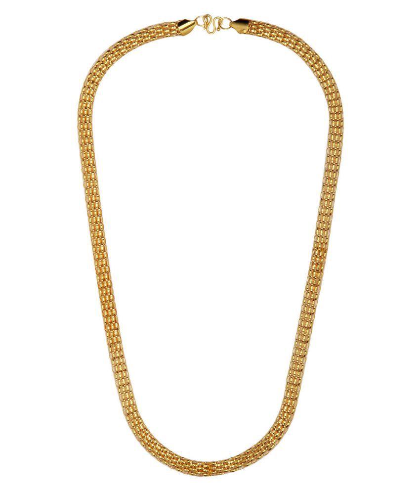 Shining Jewel Golden Necklace