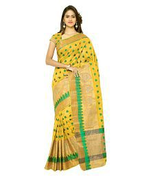 48a0639654 Cotton Saree: Buy Cotton Saree Online in India at Low Prices - Snapdeal