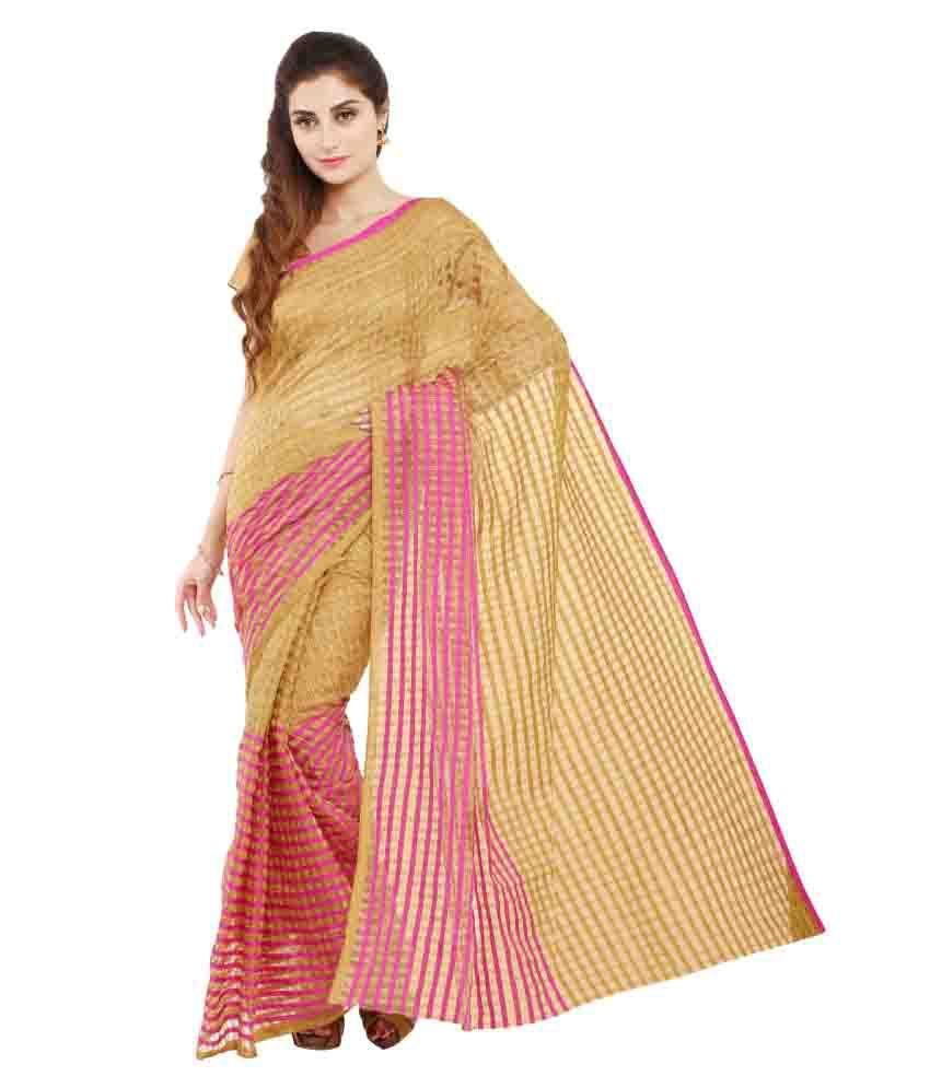 Aryahi Multicoloured Cotton Saree