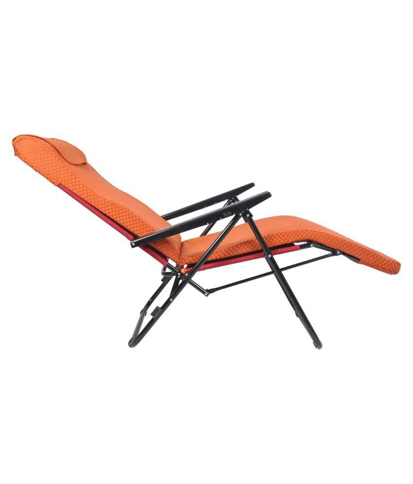 Tulip Recliner Portable Chair Orange Buy Tulip
