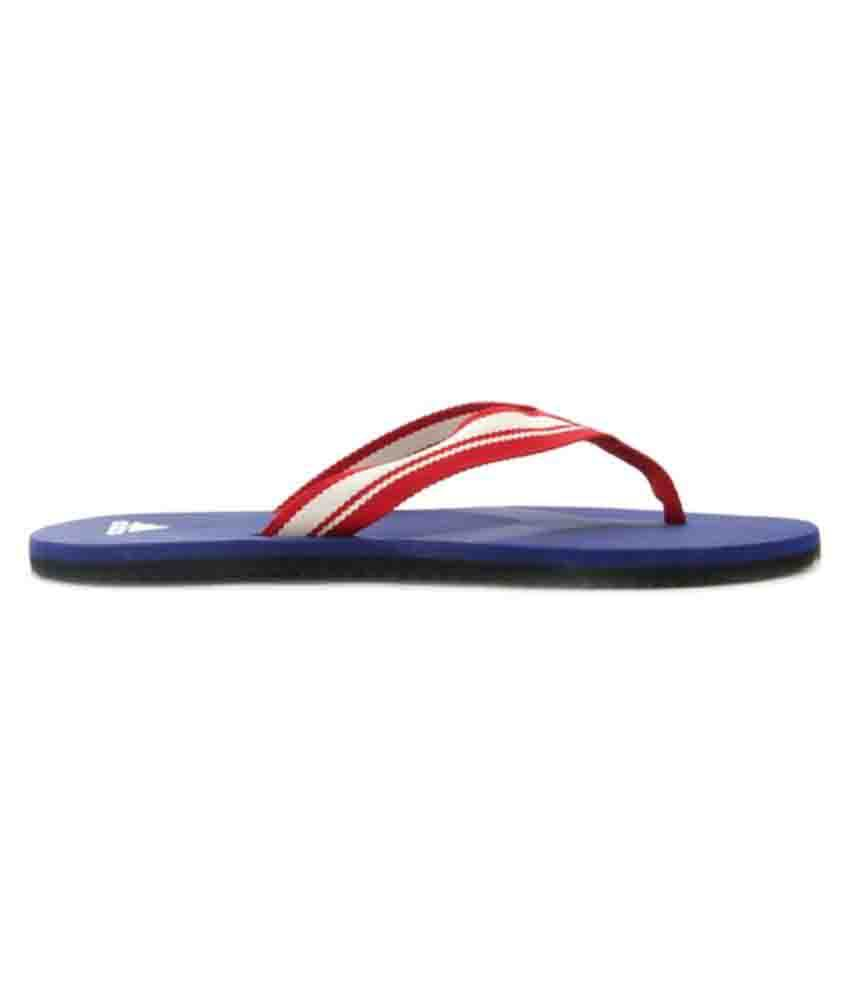 6bf98d88eb7 Adidas Adze blue daily Red Thong Flip Flop Price in India- Buy Adidas Adze  blue daily Red Thong Flip Flop Online at Snapdeal