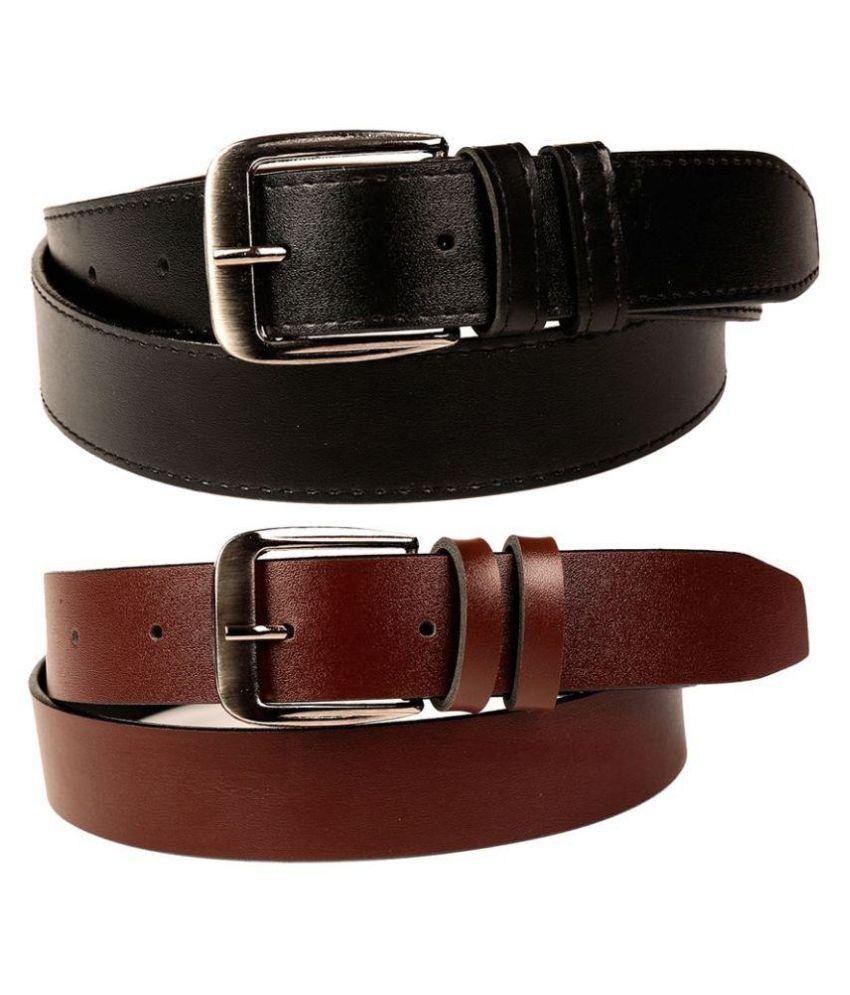 Coovs Multi Faux Leather Formal Belts