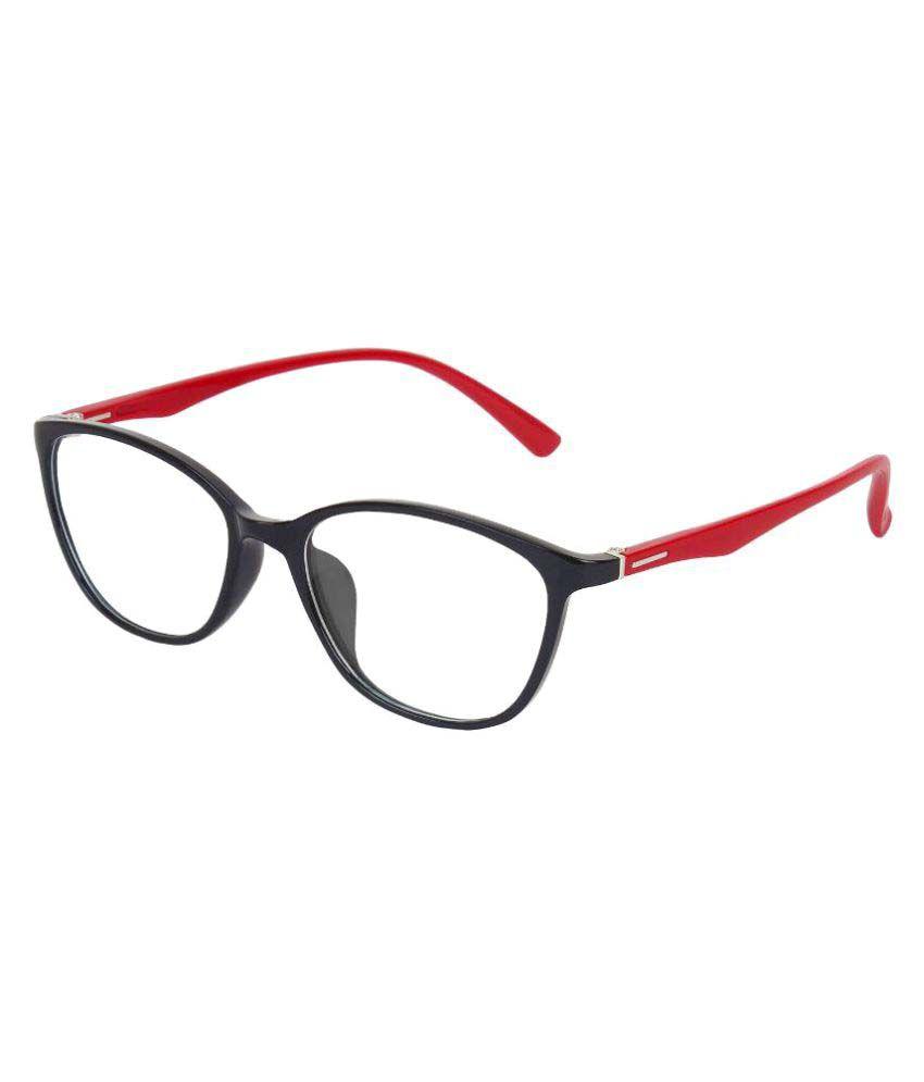 Zyaden Red Rectangle Spectacle Frame fr243