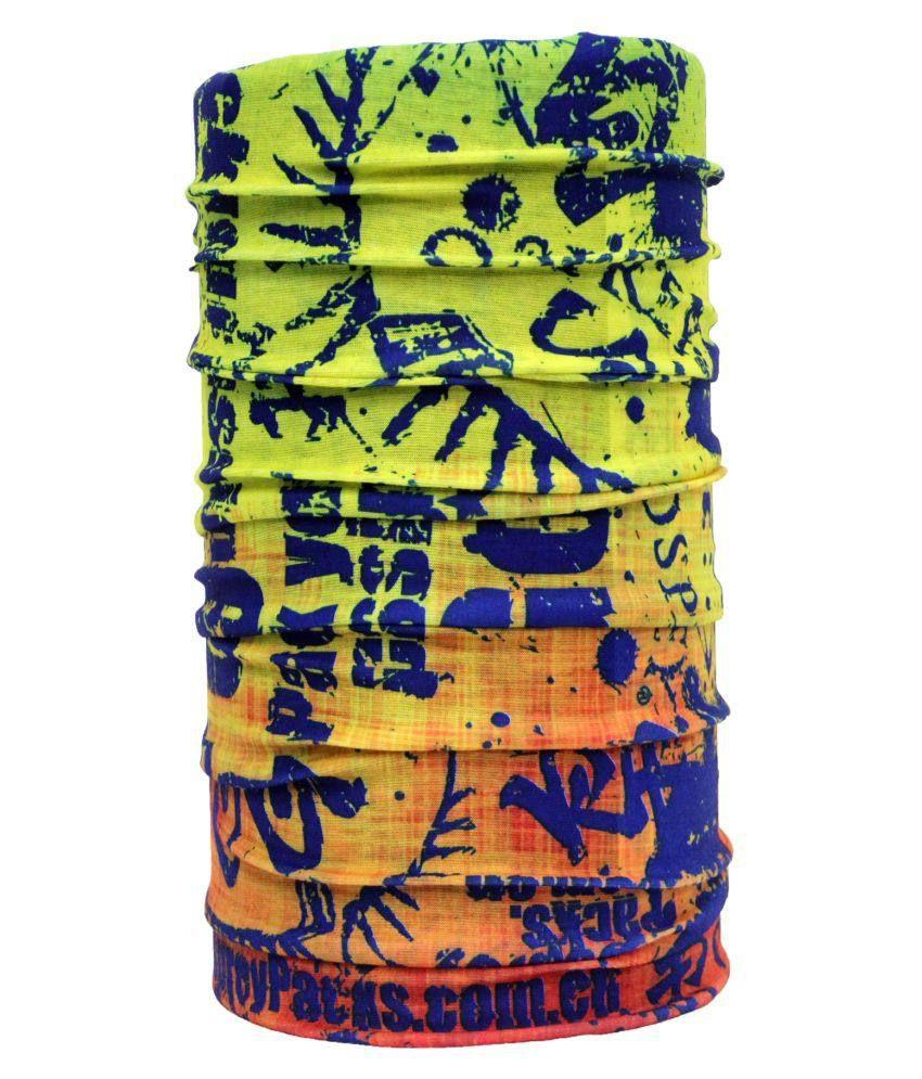 Noise Multicolour Polyester Headwrap