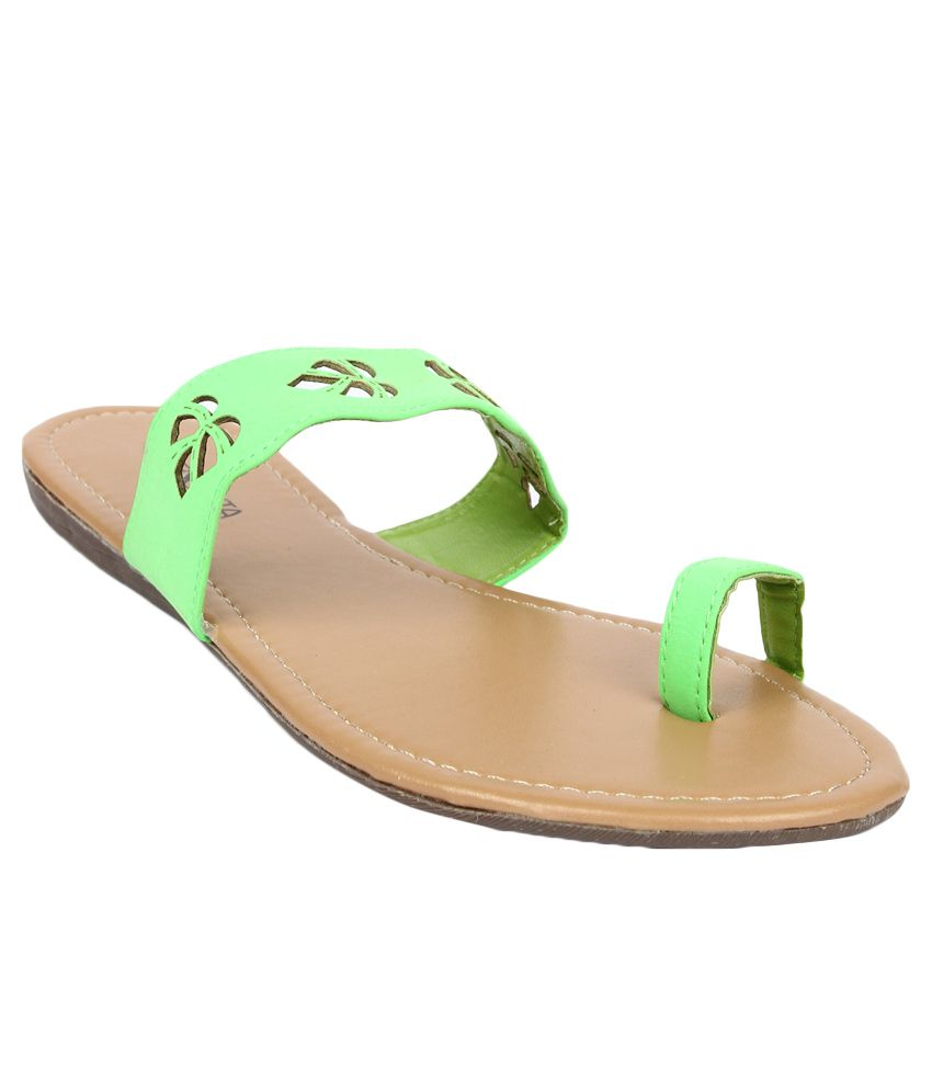 Senorita by Liberty G1-00304 Green Slippers for Ladies