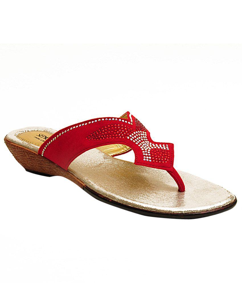 Senorita By Liberty Red Slippers