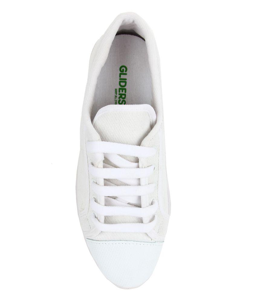 Footfun By Liberty White School Shoes