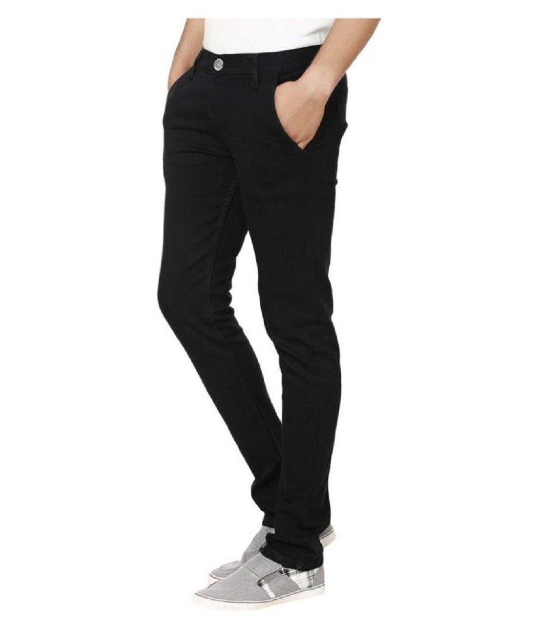 fe7b9ba6c87b Urbano Fashion Black Slim Jeans Urbano Fashion Black Slim Jeans ...