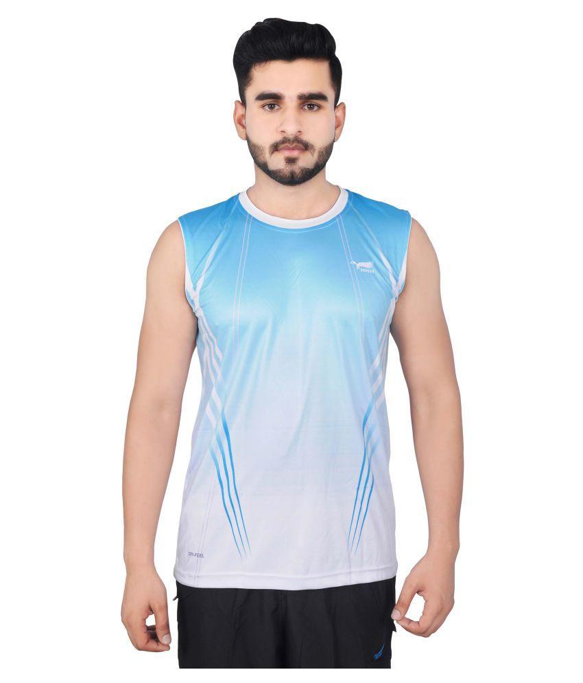 NNN Multicolour Polyester T-Shirt