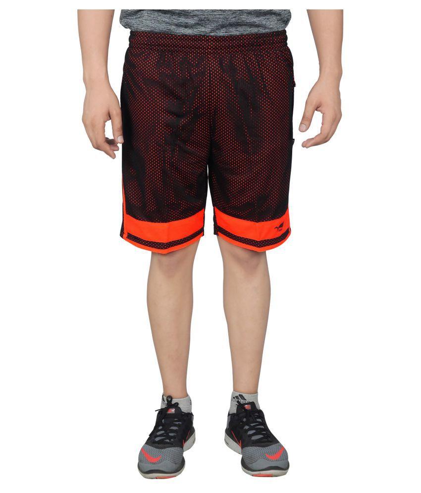 NNN Multicolour Polyester Shorts