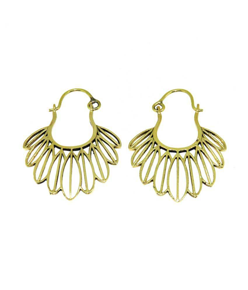 Casa De Plata Yellow Hanging Earrings