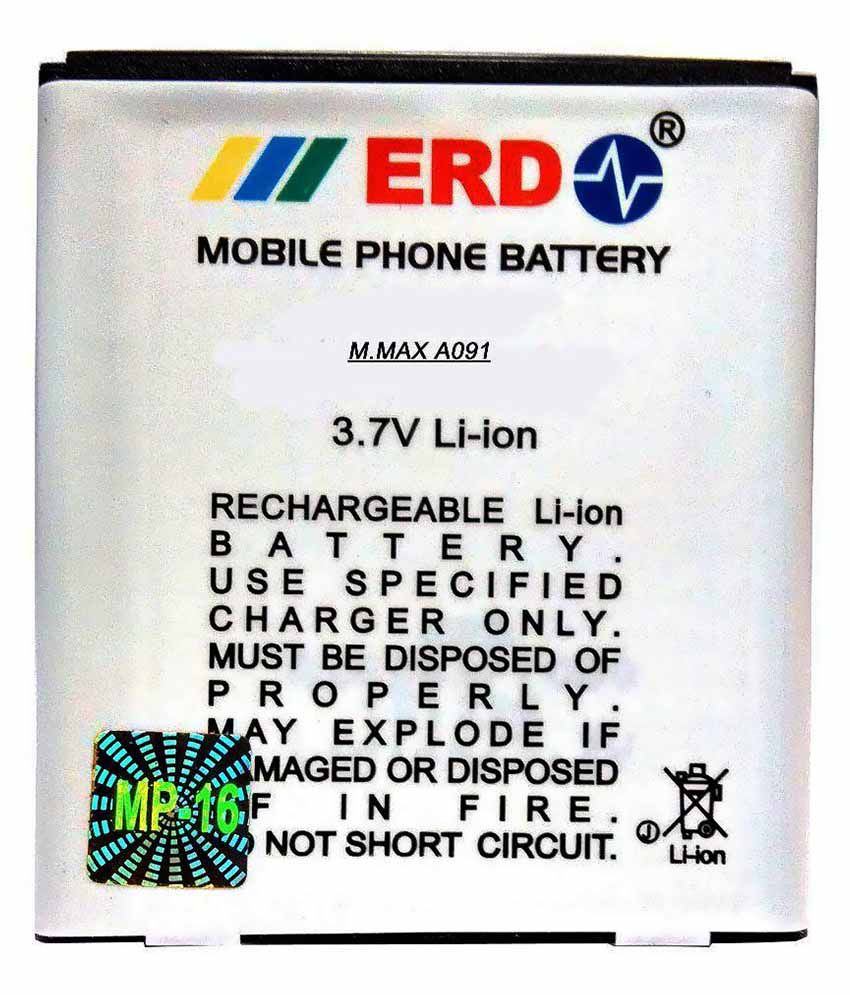 ERD 1100mAh Battery (For Micromax Canvas Engage A091)