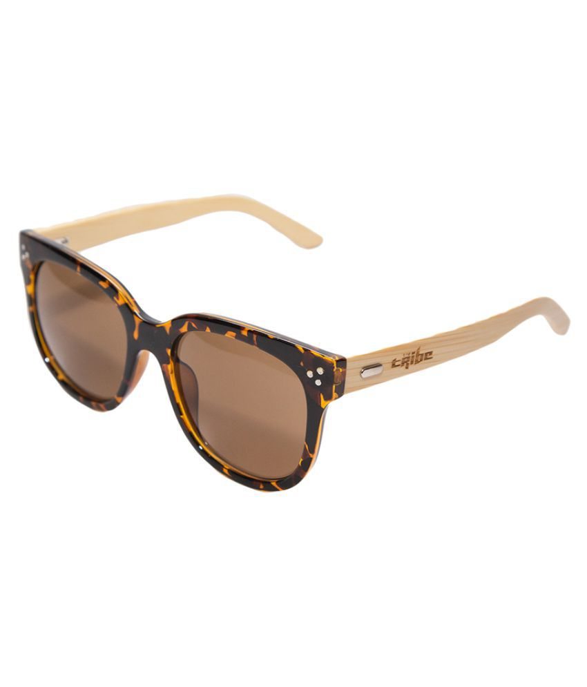 The Tribe Brown Aviator Sunglasses ( )