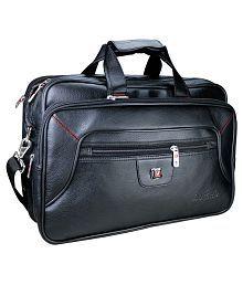 Da Tasche Black P.U. Office Bag